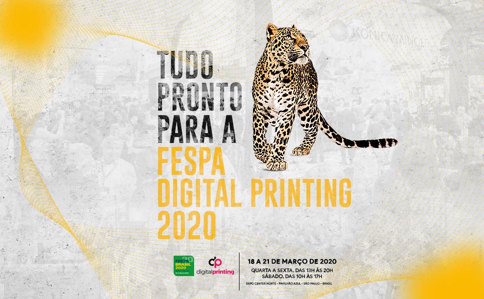 Tudo pronto para a FESPA Digital Printing 2020!