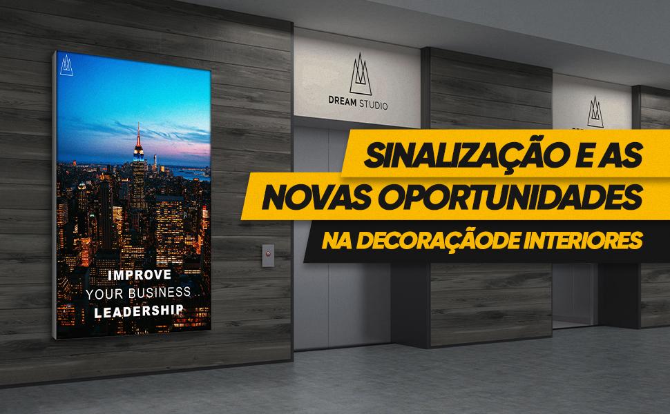 Artigo: Sinalização aponta caminho para novas oportunidades na decoração de interiores