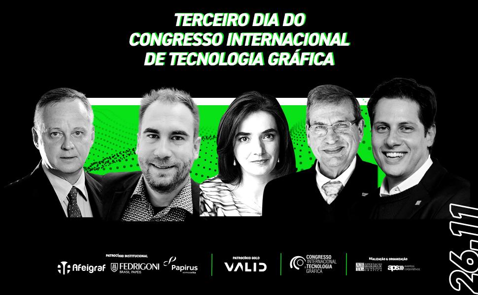 Terceiro dia do Congresso Internacional de Tecnologia Gráfica apresenta novos conceitos