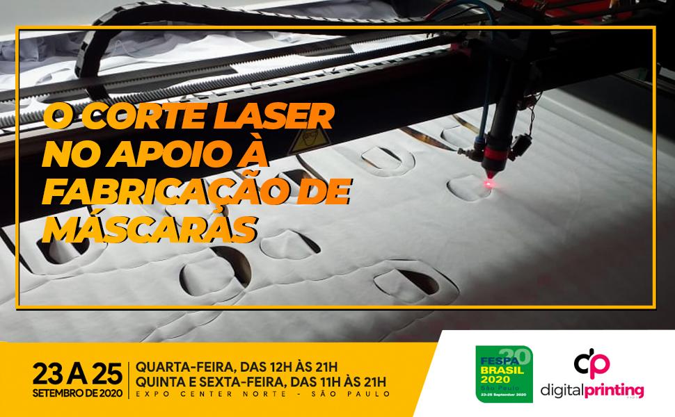 O corte laser no apoio à fabricação de máscaras