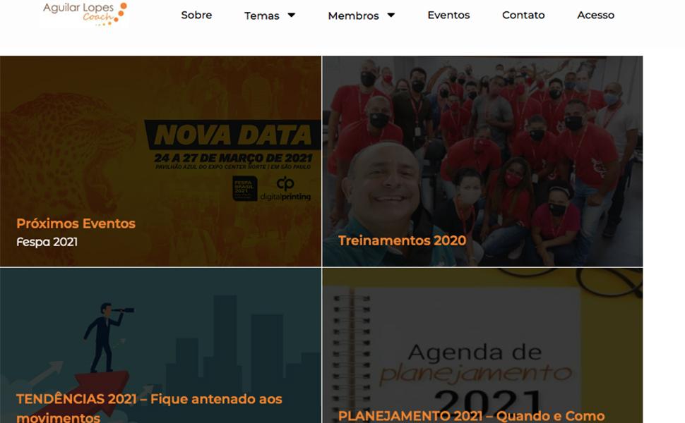 Consultor Aguilar Lopes lança site sobre comunicação visual