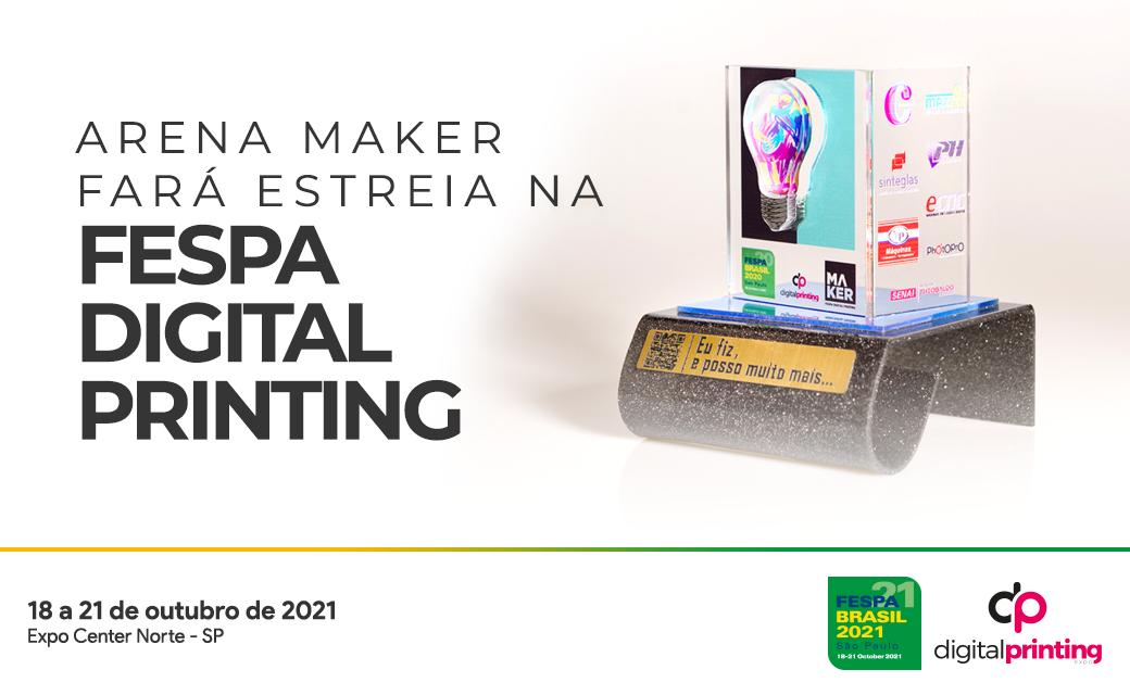 Arena Maker faz estreia na FESPA Digital Printing
