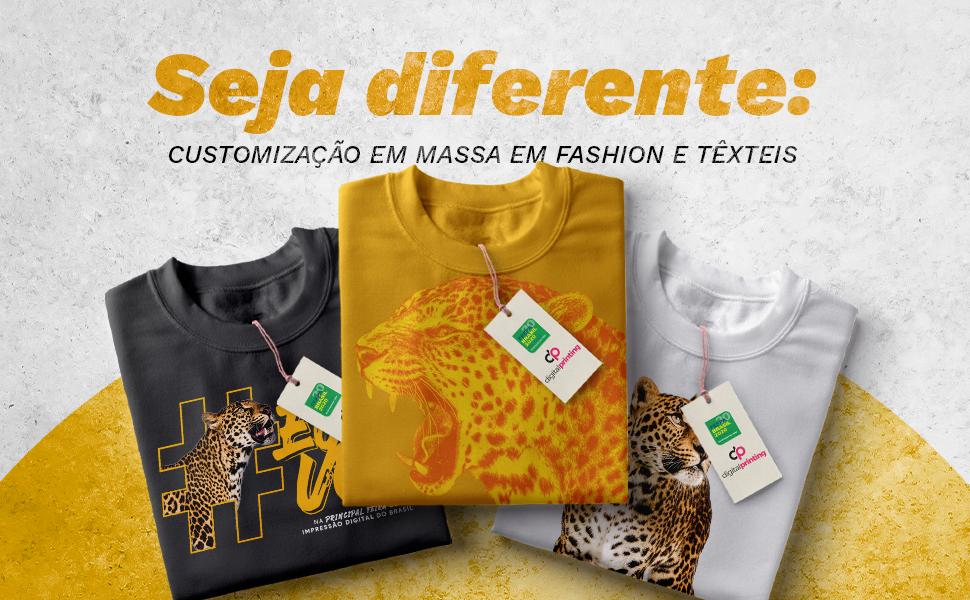 Seja diferente: customização em massa em fashion e têxteis