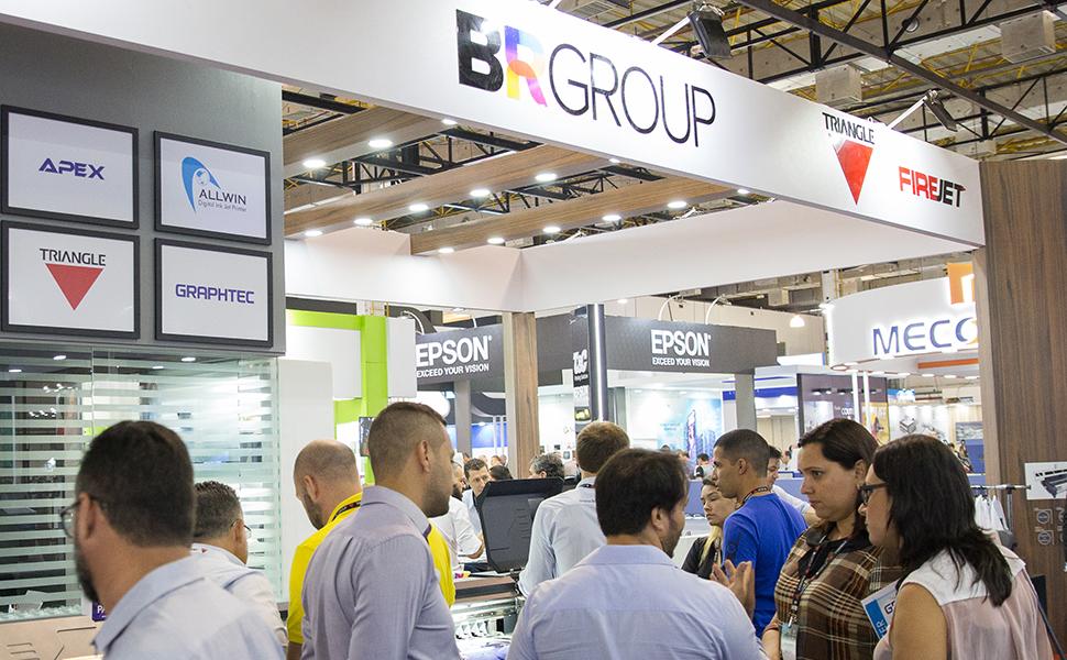 BR Group leva portfólio completo ao visitante da FESPA Digital Printing 2020
