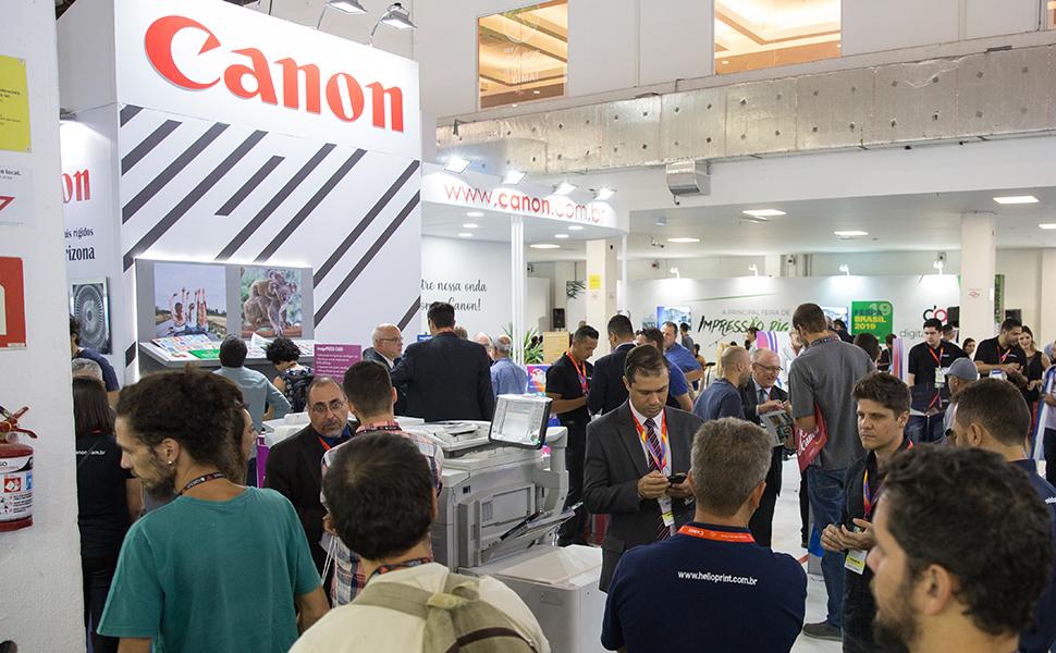 Canon levará diversas soluções de impressão para a FESPA Digital Printing 2020