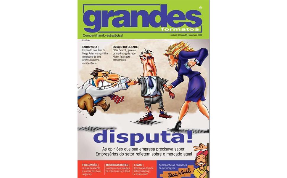 Revista GF celebra 15 anos de história na comunicação visual