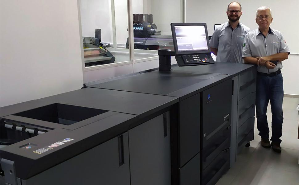 CMYK Gráfica Digital investe em impressora digital AccurioPress 6136P