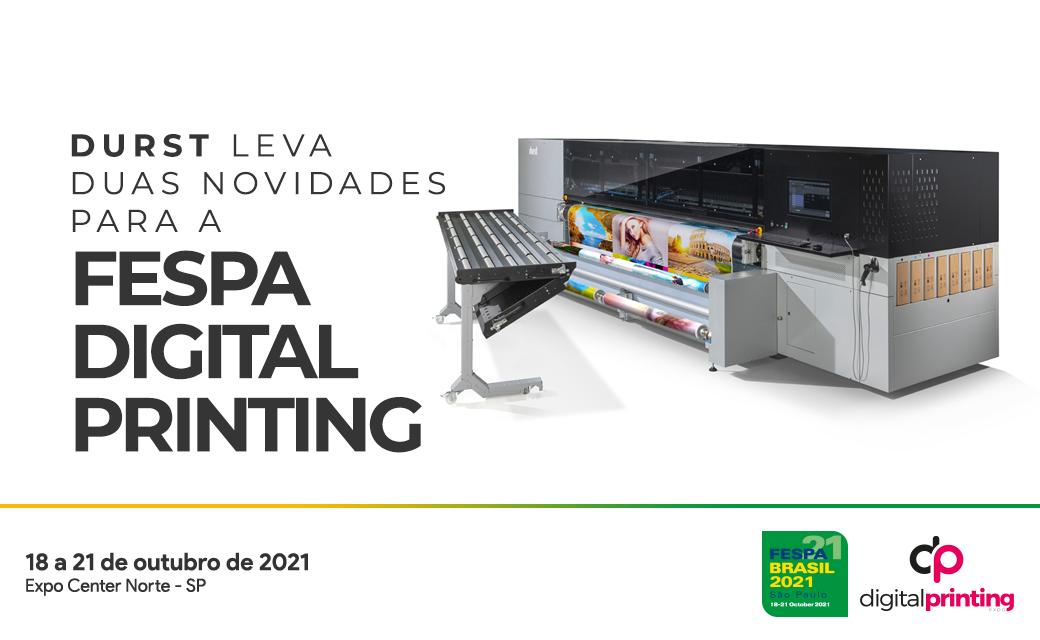 Durst leva duas novidades para a FESPA Digital Printing
