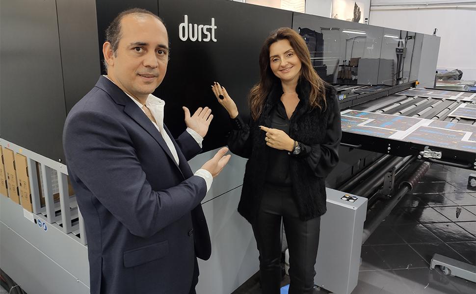 Chromajet anuncia aquisição de impressora rolo a rolo com nova P5 350 LED