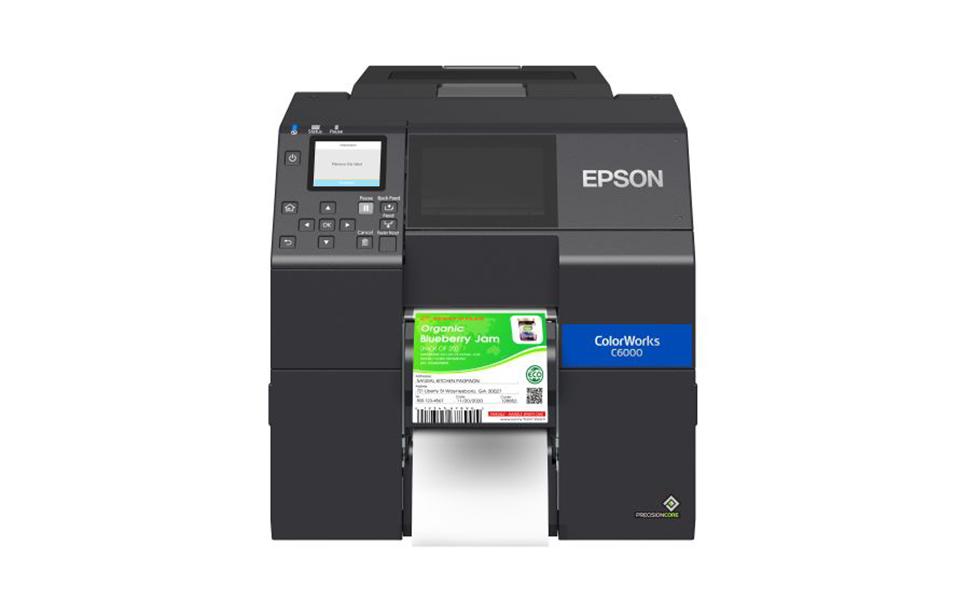 Epson lança impressoras coloridas para rótulos e etiquetas