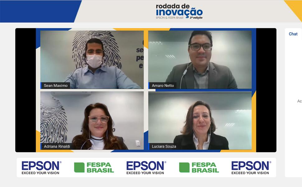 Comunicação visual e arquitetura são destaques do segundo dia da Rodada de Inovação Epson & FESPA Brasil 2ª Edição