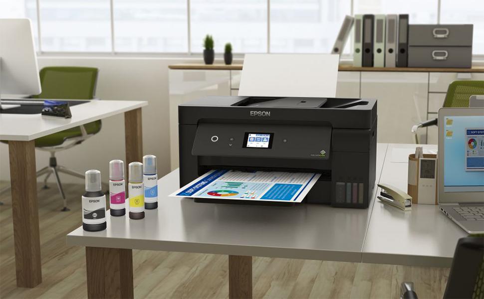 Epson anuncia impressora multifuncional para pequenas e médias empresas