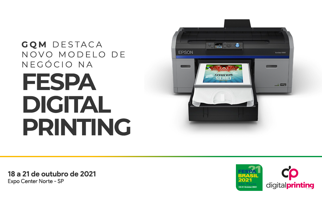 GQM destaca novo modelo de negócio na FESPA Digital Printing