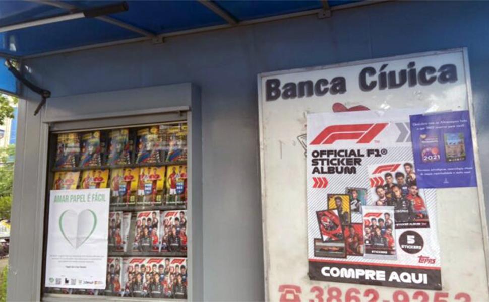 Campanha Love Paper alcança duas mil bancas da Grande SP