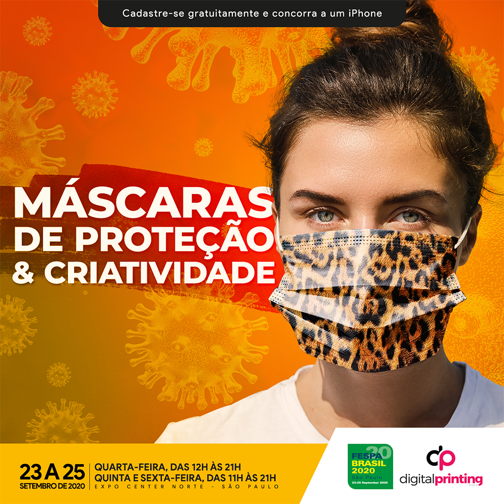 Máscaras de Proteção e Criatividade