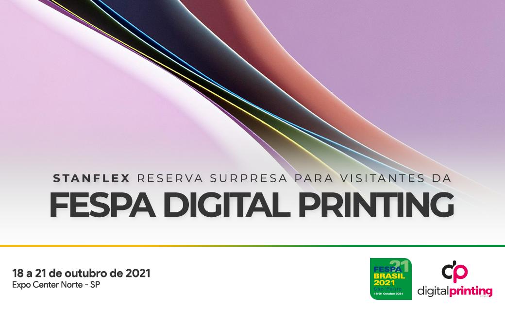 Stanflex reserva lançamento surpresa para visitantes da FESPA Digital Printing
