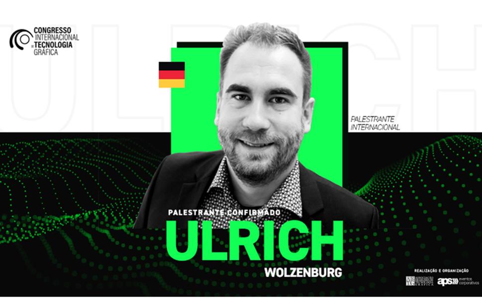 Pesquisador alemão Ulrich Wolzenburg fala de digitalização no Congresso Internacional de Tecnologia Gráfica