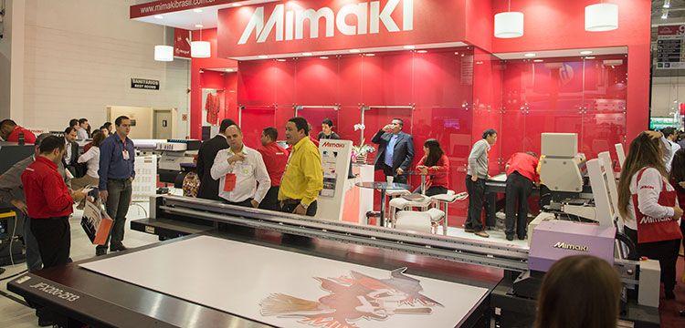 Mimaki mostra velocidade e versatilidade em impressão na ExpoPrint Latin America 2018
