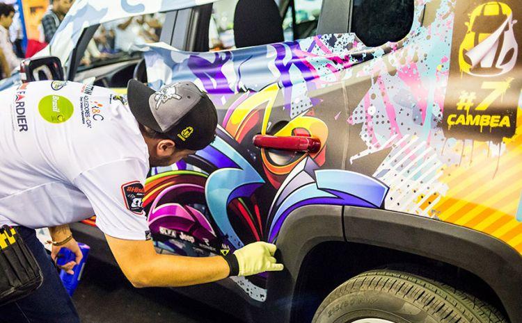 CAMBEA 8: participe do maior campeonato de envelopamento automotivo
