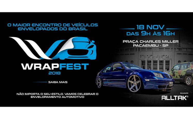 Wrap Fest 2018 vai reunir em São Paulo os apaixonados por envelopamento de carros