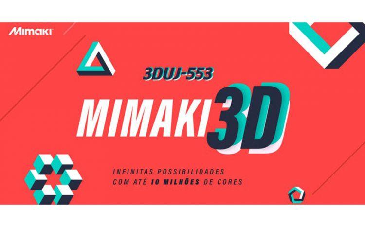 Mimaki mostra possibilidades da impressão 3D com evento em São Paulo