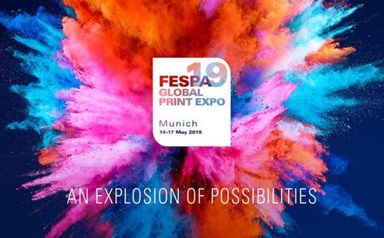 FESPA Global Print Expo 2019 retorna a Munique com uma explosão de possibilidades