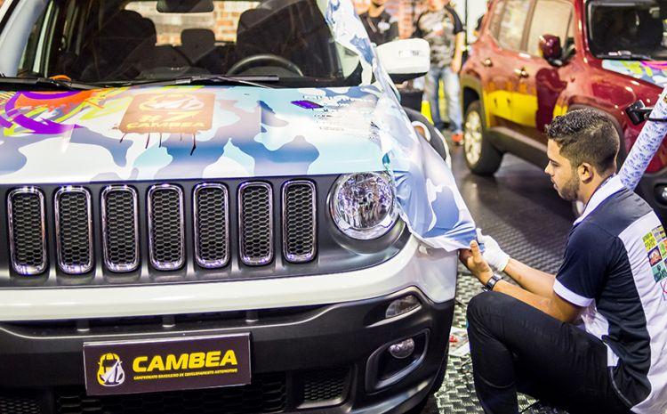 CAMBEA 9 traz novidades e celebra o mercado de envelopamento na FESPA Brasil 2019