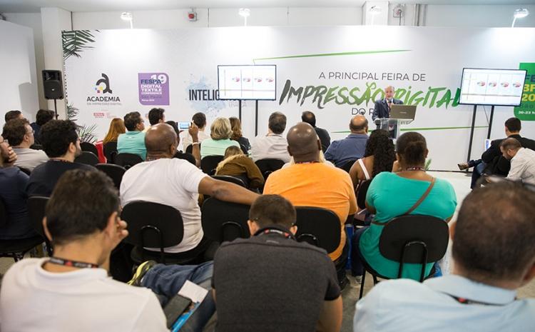 Congresso Inteligência Gráfica prossegue hoje na FESPA Brasil | Digital Printing 2019