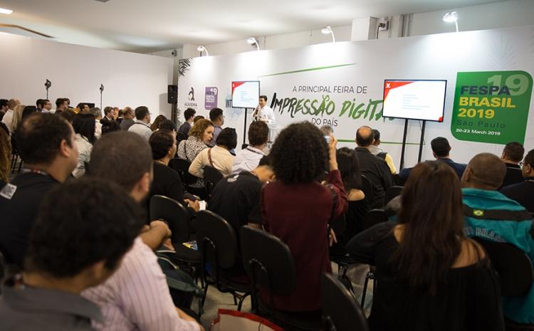 Academia da Impressão Digital acontece no sábado dentro da FESPA Brasil | Digital Printing 2019