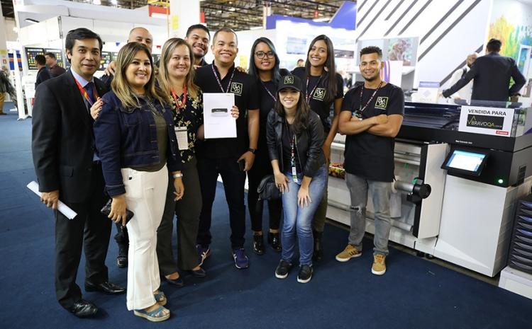 Canon avalia como positiva participação na FESPA Brasil | Digital Printing 2019