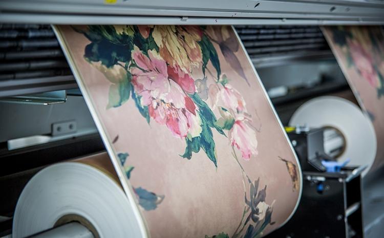 Artigo FESPA: Por que os papéis de parede impressos estão prontos para um crescimento dinâmico