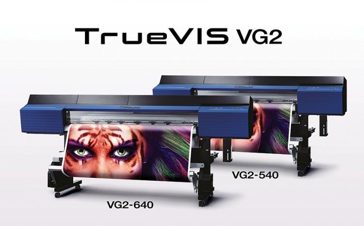 Roland DG apresenta Truevis VG2 na FESPA em Munique