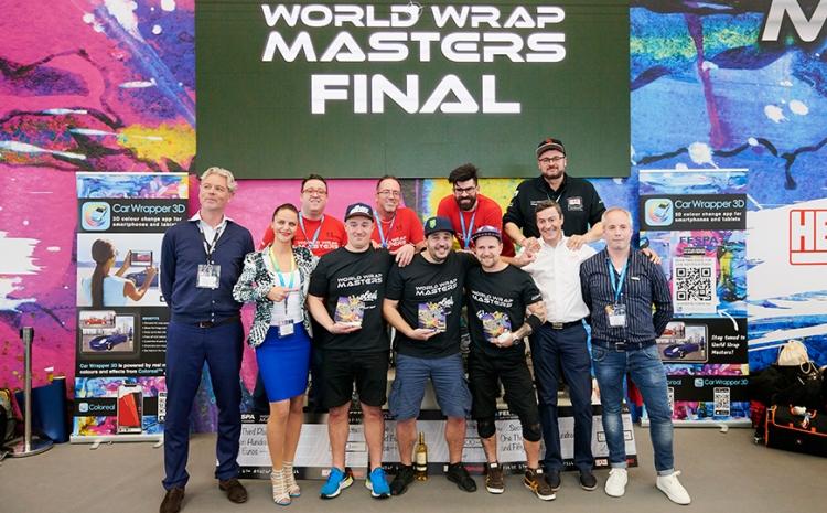 Austríaco é campeão do World Wrap Masters na Global Print Expo 2019
