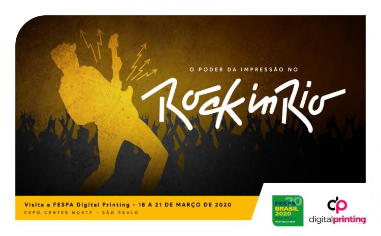 O Poder da Impressão no Rock in Rio