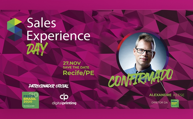 FESPA Digital Printing é Patrocinadora Oficial do Sales Experience Day