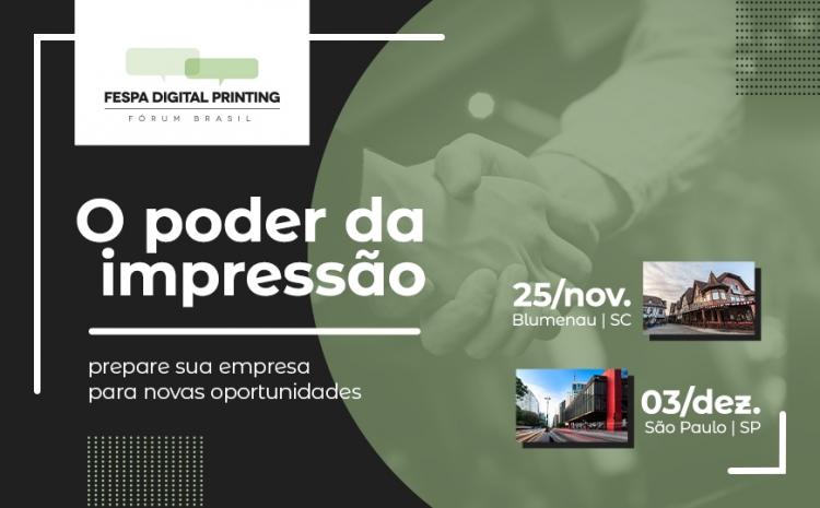 Fórum FESPA Digital Printing tem início na próxima semana