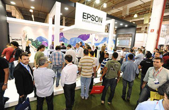 Epson entra no mercado de sublimação na FESPA Brasil 2013