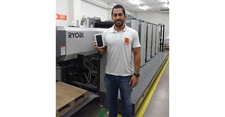 ExpoPrint Digital / FESPA Brasil 2017 anuncia ganhador do sorteio do iPhone
