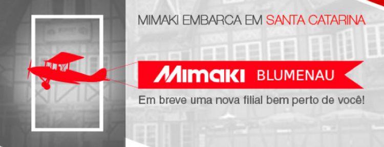 Mimaki anuncia nova filial em Blumenau