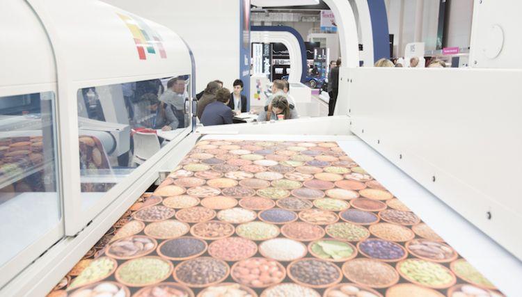 MS Printing Solutions mostra impressora de soft signage na FESPA México
