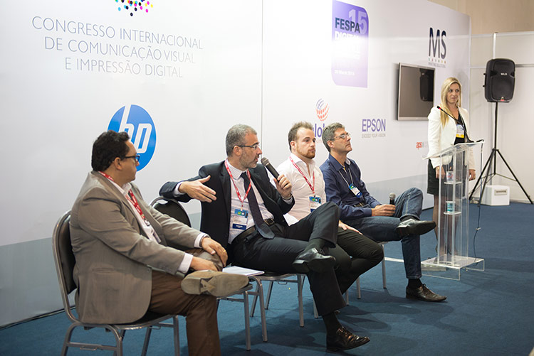 Debate - Congresso Internacional de Comunicação Visual e Impressão Digital