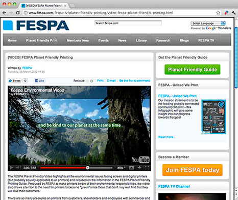 FESPA website